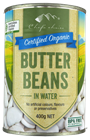 Picture of CHEFS ORGANIC BUTTER BEANS