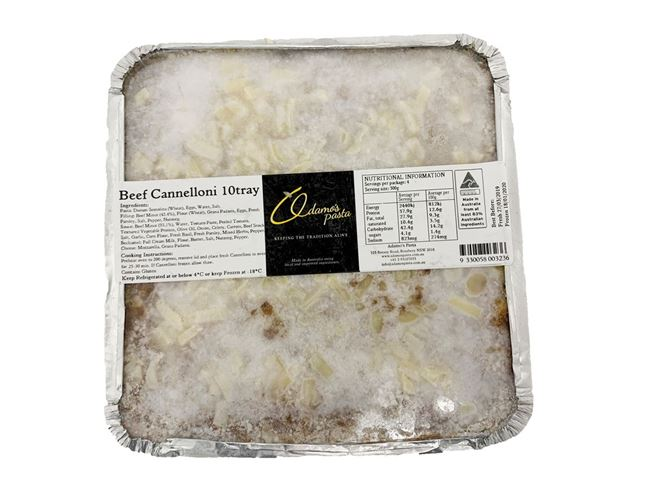 Picture of ADAMOS BEEF CANNELLONI