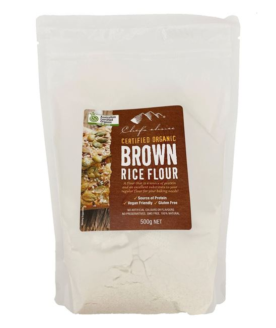 Picture of CHEFS ORGANIC BROWN RICE FLOUR 500g