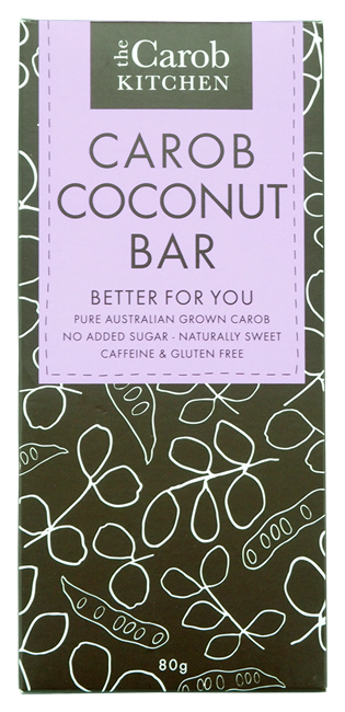 Picture of CAROB COCONUT BAR 80g
