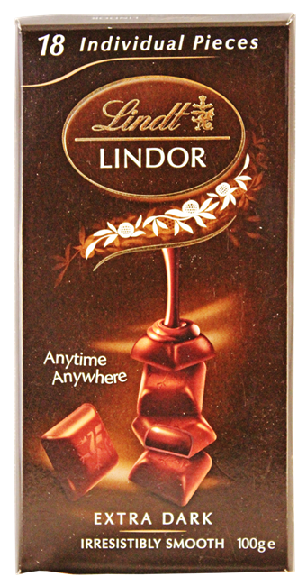 Picture of LINDOR DARK PIECES