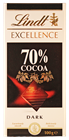 Picture of LINDT 70% COCOA EXCELLENCE