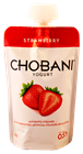 Picture of CHOBANI STRAWBERRY YOGHURT POUCH
