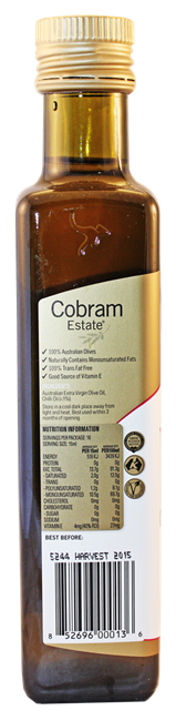 Picture of COBRAM CHILLI INFUSED EXTRA VIRGIN OLIVE OIL
