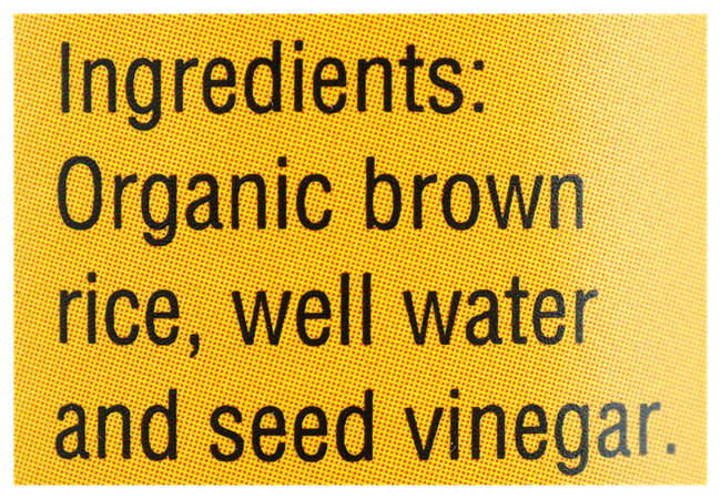 Picture of SPIRAL BROWN RICE VINEGAR