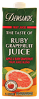 Picture of DEWLANDS RUBY GRAPEFRUIT JUICE
