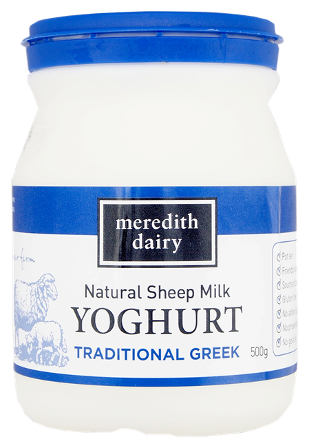 Picture of MEREDITH DAIRY SHEEP MILK YOGHURT 500g