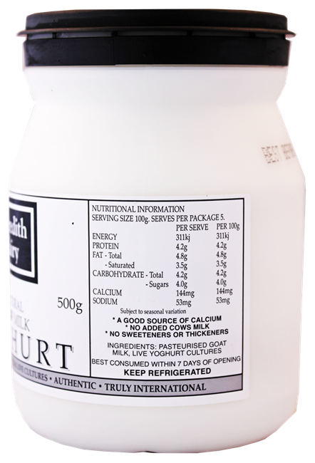 Picture of MEREDITH DAIRY GOAT MILK YOGHURT 500g
