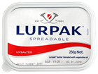 Picture of BUTTER - LURPAK UNSALTED SPREADABLE