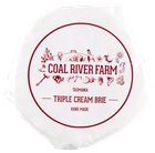 Picture of COAL RIVER FARM TASMANIA TRIPLE CREAM BRIE
