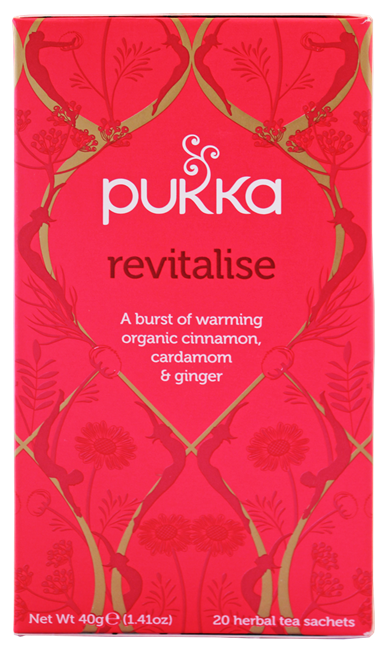 Picture of TEA - PUKKA REVITALISE