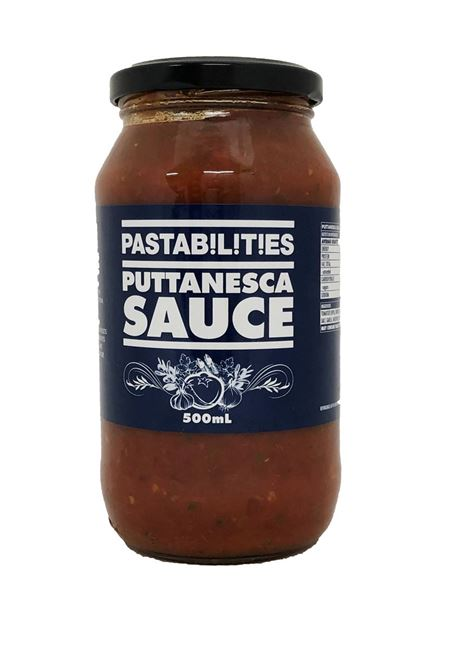 Picture of PASTABILITIES PUTTANESCA SAUCE