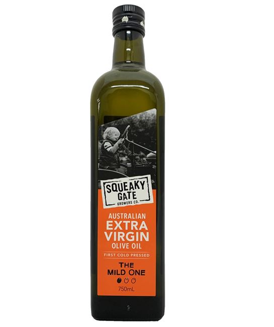 Picture of SQUEAKY GATE MILD EXTRA VIRGIN OLIVE OIL 750mL