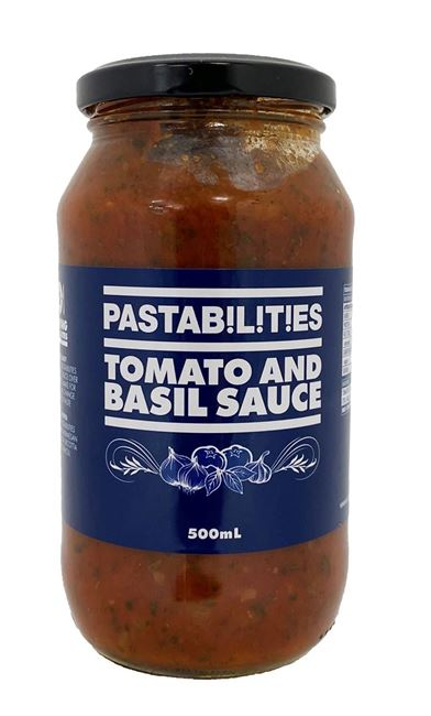Picture of PASTABILITIES TOMATO & BASIL SAUCE