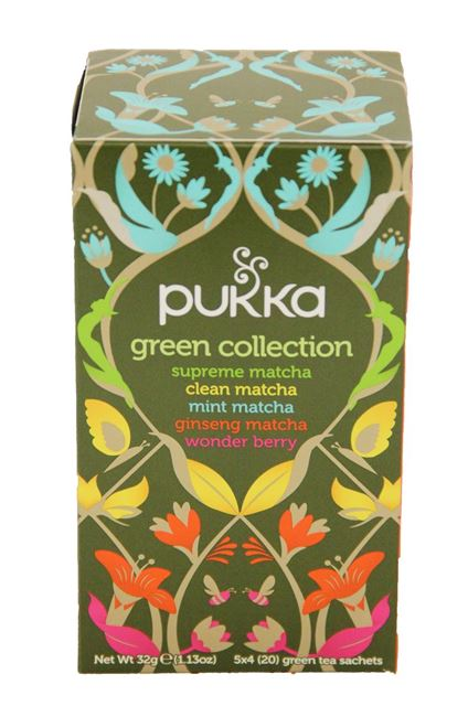 Picture of TEA - PUKKA GREEN COLLECTION