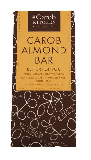 Picture of CAROB ALMOND BAR