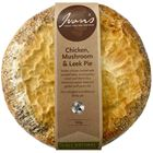 Picture of IVANS CHICKEN, MUSHROOM & LEEK FAMILY PIE