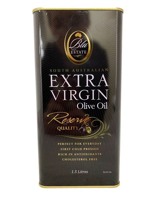 Picture of BLU ESTATE RESERVE TIN EXTRA VIRGIN OLIVE OIL