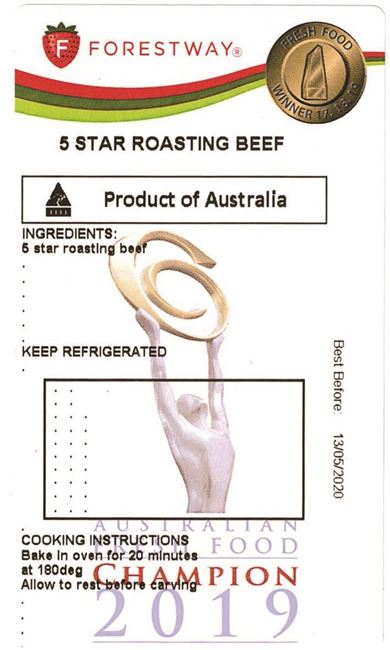Picture of 5 STAR ROASTING BEEF