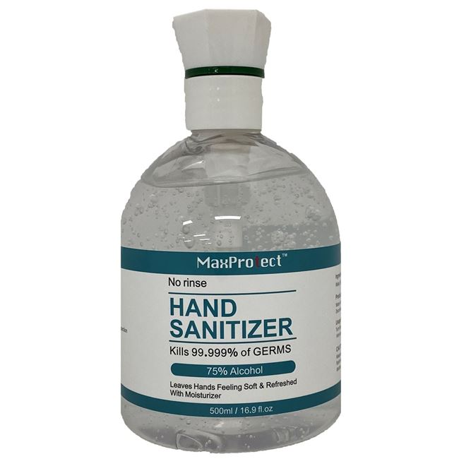 Picture of HAND SANITISER MAX PROTECT 500ml
