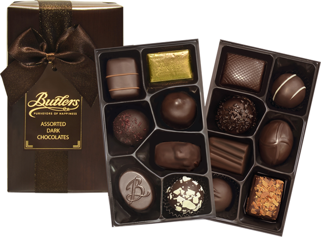 Picture of BUTLERS DARK CHOCOLATE SELECTION 200G