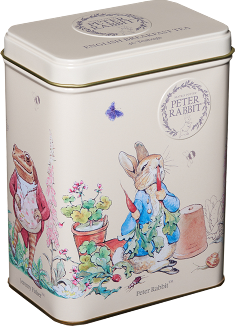 Picture of BEATRIX POTTER ENGLISH BREAKFAST TIN 80G