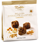 Picture of NOBLE CHOCOLATE CARAMEL CLUSTIES 110G