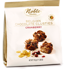 Picture of NOBLE CHOCOLATE CRANBERRY CLUSTIES 110G