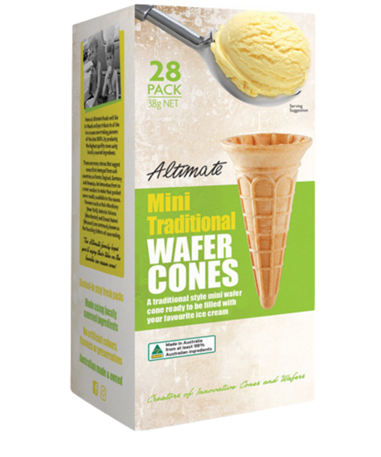 Picture of ALTIMATE MINI TRADITIONAL WAFER CONES