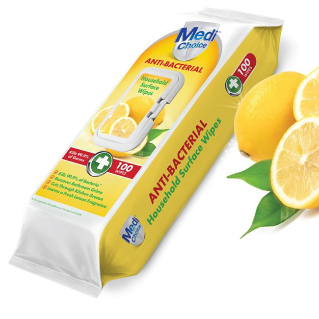 Picture of MEDI CHOICE ANTI BAC WIPES