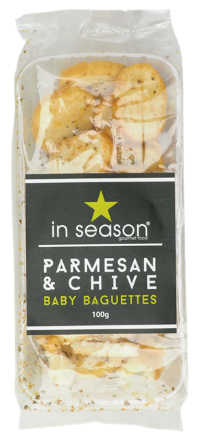 Picture of  IN SEASON PARMESAN & CHIVE BABY BAGUETTES