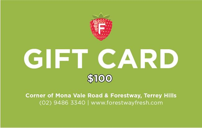 Picture of FORESTWAY VOUCHER $100