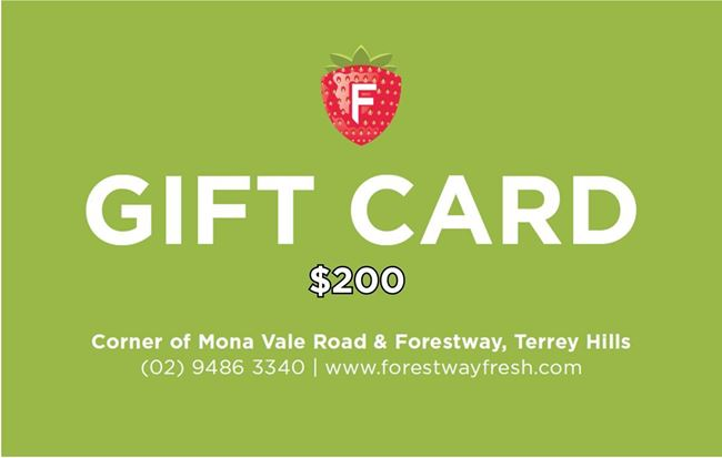 Picture of FORESTWAY VOUCHER $200